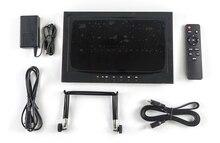Aleación tutor 11.6 pulgadas IPS FPV Monitor de entrada de Vídeo VGA + HDMI + AV1 + AV2 + USB + Auricular USB: Apoyo A la reproducción de vídeo HD, REPRODUCTOR de MP3