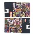 The Avengers de Marvel DC Super Heroes Collection Serie Bailini Carteras Hombres Monedero Baelerry Bogesi Cartera de Anime Billetera