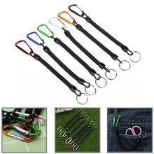 5 Шт. Рыболовная веревка с фиксированной веревкой рыболовная веревка гребля веревки и кемпинг карабин