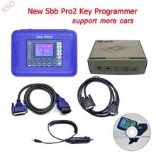 V48.88 Новый SBB Pro2 Ключевые программист Поддержка автомобилей до 2017 заменить SBB V46.02 v33.02 SBB Ключевые программист Поддержка для Toyo -Та G чип
