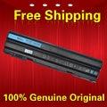 Free shipping P9TJ0 PRRRF T54F3 T54FJ YKF0M 04NW9 05G67C 312-1163 451-11694 Original laptop Battery For Dell  11.1V 60WH