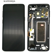 Super AMOLED LCD Display For Samsung Galaxy S9 G960 S9+ S9 Plus G965 LCD Display Touch Screen Digitizer Assembly 6 2 inch super amoled replacement for samsung s9 plus g965 g965f lcd screen display digitizer touch screen for s9 plus sm g965f