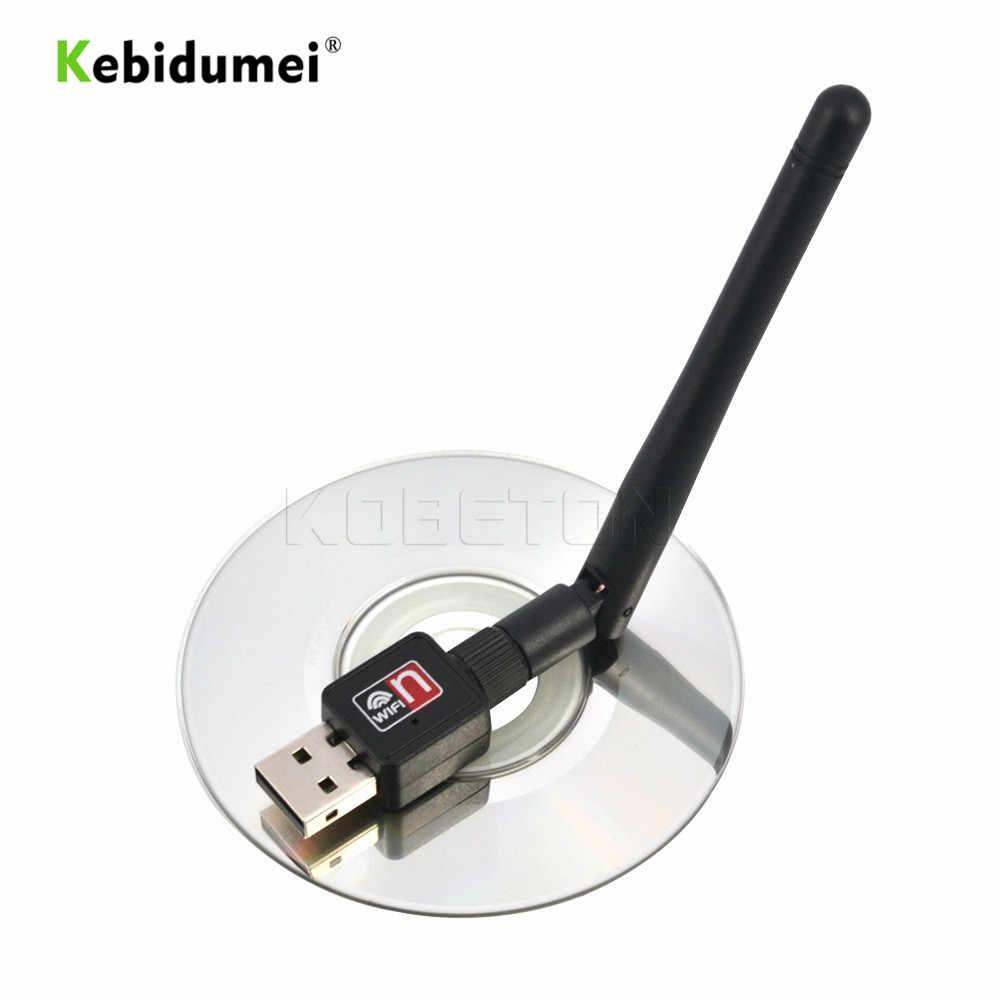 Kebidumei USB Wi-Fi беспроводной сетевой сетевая карта сетевой адаптер 150 Мбит/с Антенна Компьютерные аксессуары Драйвер программного обеспечения для ноутбука