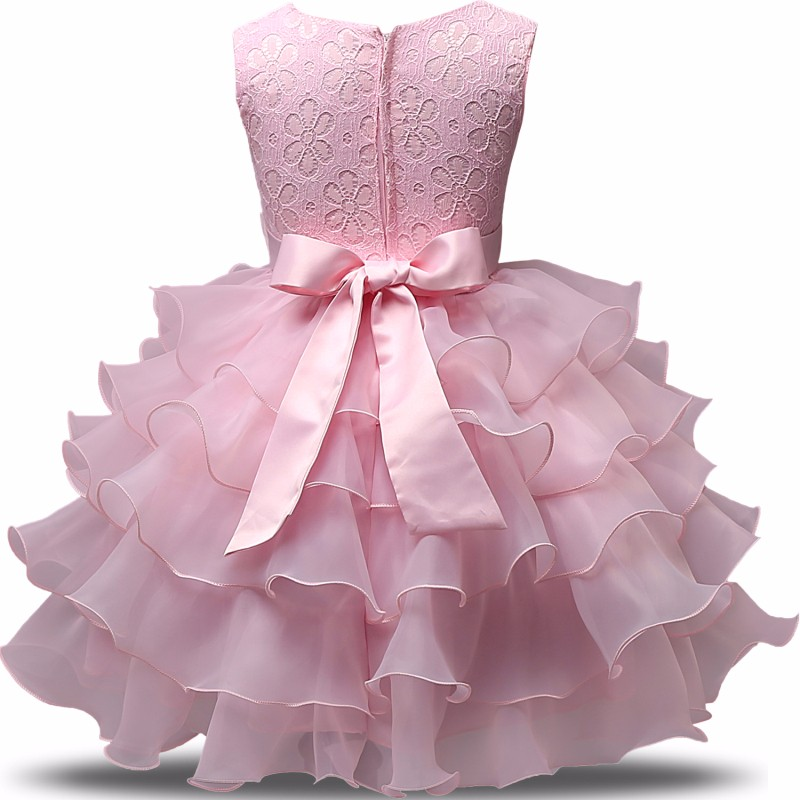 Niña vestido de boda para la ropa del bebé 1 2 años Niño infantil ...
