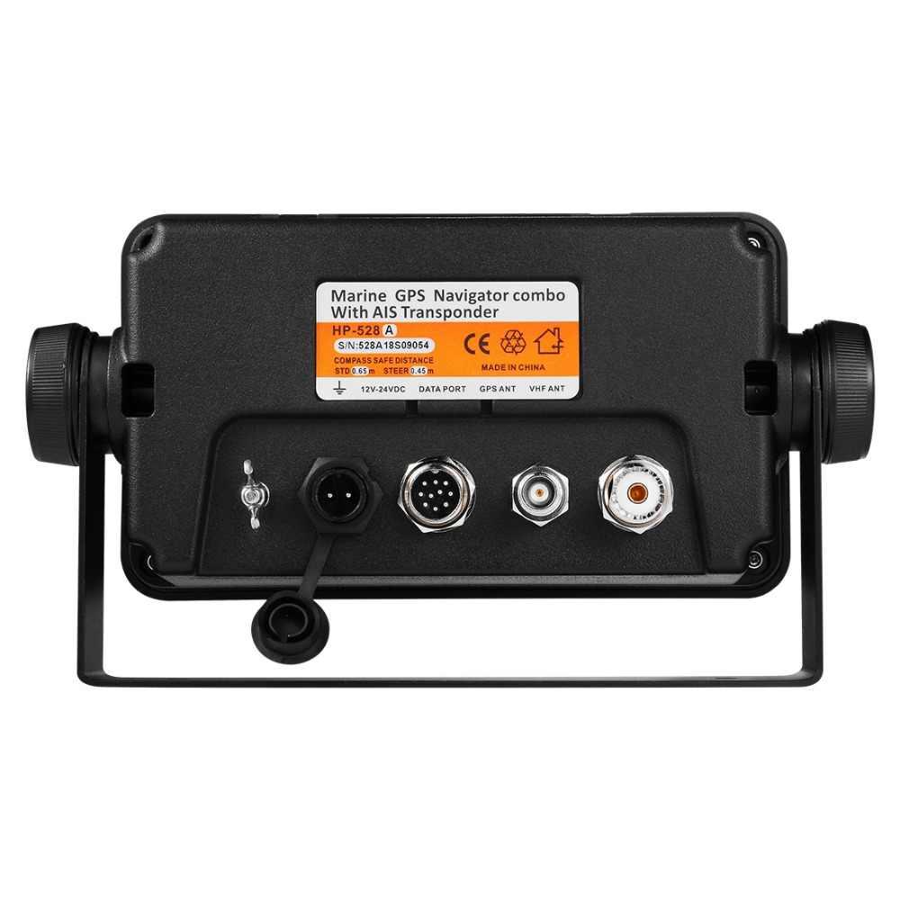 Matsutec HP-528A 4 3-inch Color LCD Chart Plotter Built-in Class B AIS  Transponder Combo High Sensitivity Marine GPS Navigator