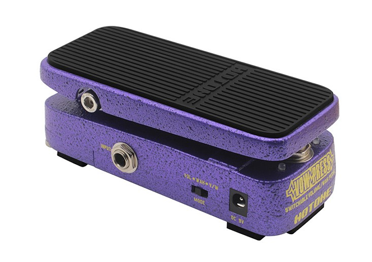 Clever Sonicake 2 In 1 Expression Effect Pedal Combine Active Volume And Vintage Wah Mode Led Light Show Foot Switch Button Step Qep-01 Musical Instruments