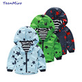 Kids Jackets Spring Autumn Boys Hooded Windbreaker Top Clothes Children Waterproof Rain Wear Coat For Girls Baby Trench Coat
