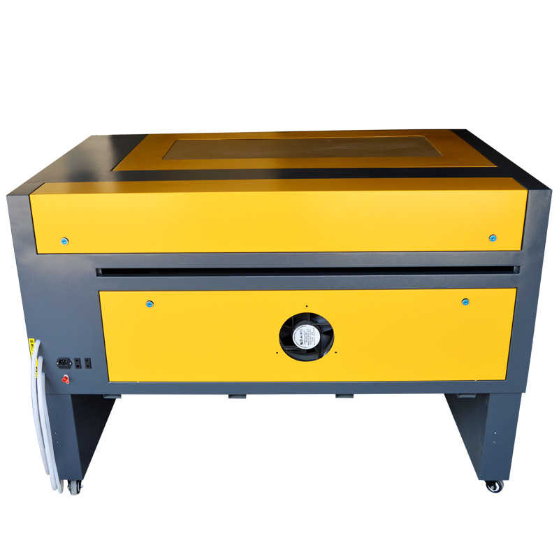 100 w, envío gratis, 6090, máquina de grabado láser co2 Cuero Acrílico, máquina cortadora de grabado láser de cristal y madera CO2