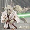 Venta caliente de Star Wars 7 La Fuerza Despierta Caballero Jedi Master Yoda Figura de Acción Juguetes
