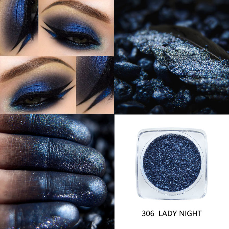 Beauty Essentials Qibest Eye Shadow Glitter Eyes Loose Powder Brighten 30 Colorful Women Party Metallic Shimmer Blue Eyeshadow Makeup Cosmetics 100% Original