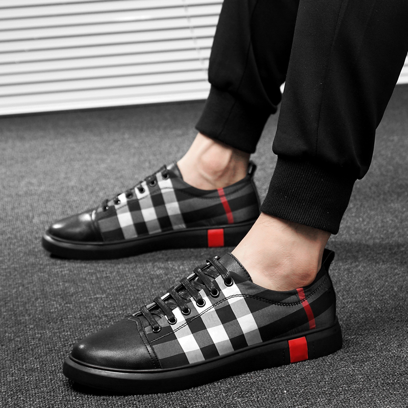 Sneakers New Wild Trend Casual Shoes Men High Quality Soft Comfortable Breathable Flat Simple Lightweight Shoes