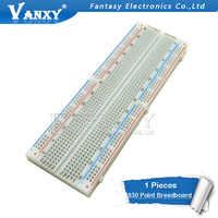 Breadboard 830 Punkt Solderless PCB Brot Bord MB-102 MB102 Test Entwickeln DIY