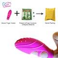 Горячие Продажи Вибрационный Танцор Палец Клитор G-Spot Стимулятор Мини Вибратор Секс Игрушки для Женщин Женский Секс-Игрушки продукты DW-007