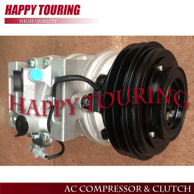 Online Auto Air Conditioning Compressor 10p30c 12v 24v For Toyota Coaster Mini Bus 24 Volt Pulley Pv2 447220 0394 88320 36560 Aliexpress Mobile
