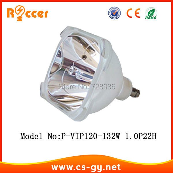 compatible bare bulb P VIP 120 132W 1.0 P22H for projector lamp XL 2200