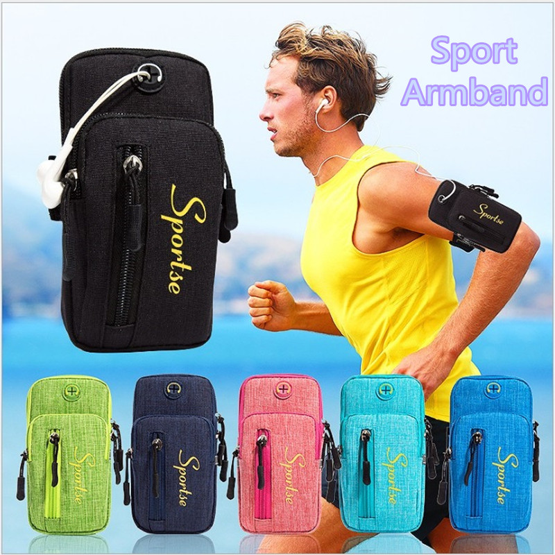 4 to 6.2 inch Universal Sport Armband Waterproof Arm band Case For iPhone XR XS X 8 Plus Samsung