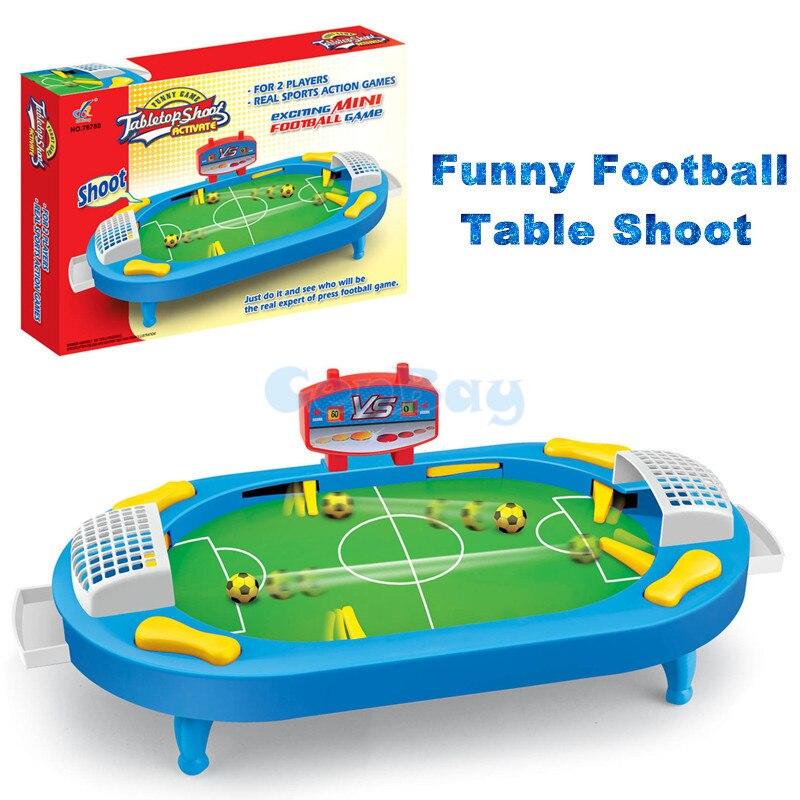 Escritorio Battle 2 jugadores Mini mesa de fútbol Sesión de interior juego de mesa de fútbol juego de mesa para niños deportes juguetes interactivos