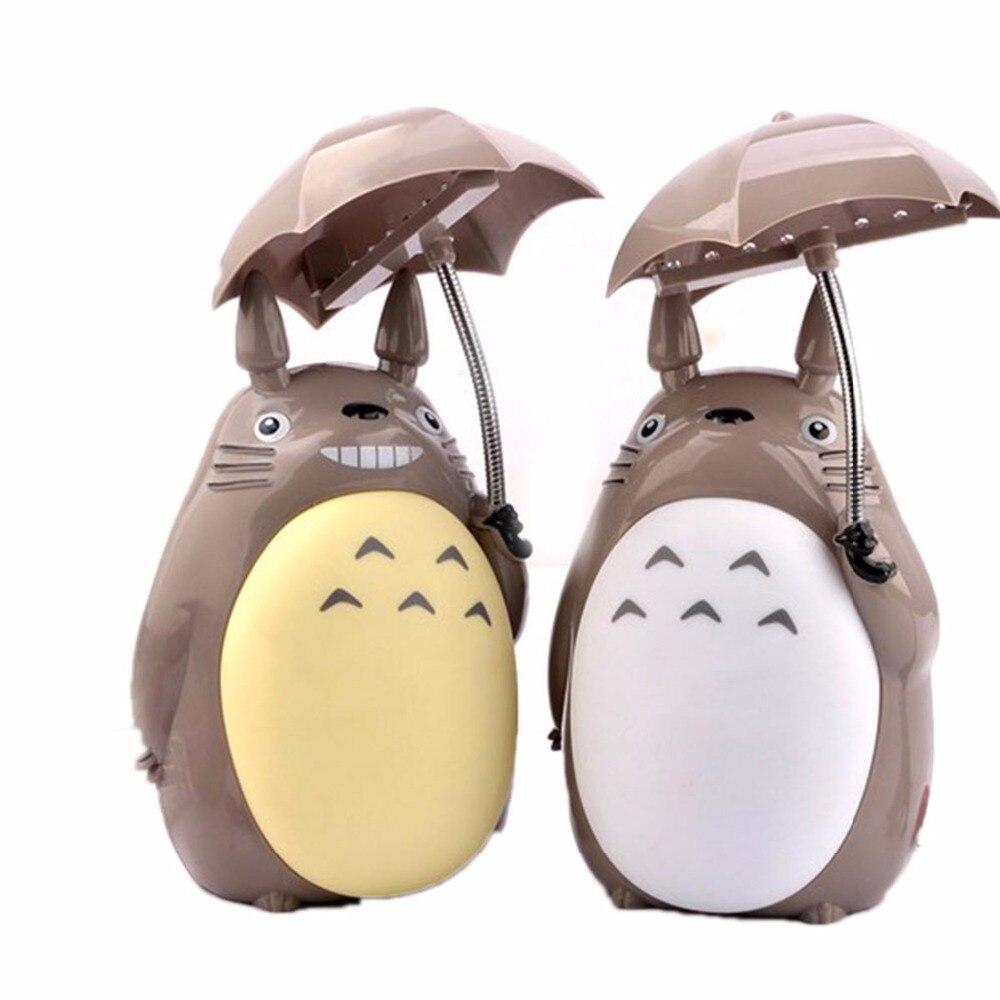 Lovely Cartoon Totoro Lamp Led Night Light USB Reading Table Desk Lamps for Kids Gift Home Decor Novelty Lightings My Neighbor