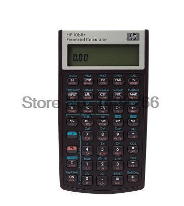2016 Hp 10BII Financial font b Calculator b font 10 Digits Led Eletronicos font b Calculators