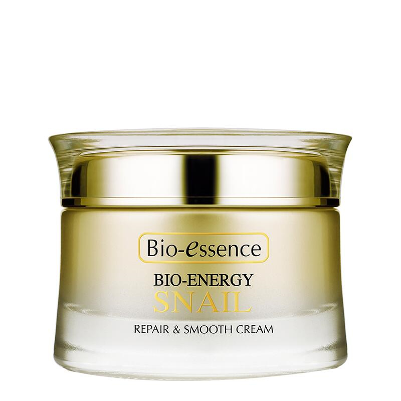 Bio essence The snail repair smooth cream 50g hydrating firming skin tender and white face cream