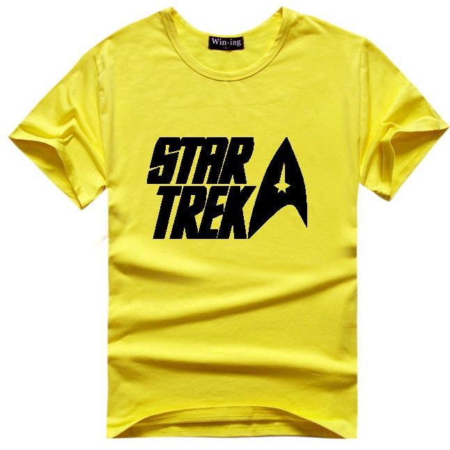 Star Trek Logo T Shirt Sci Fi Spock Tshirt Movie T Shirts De