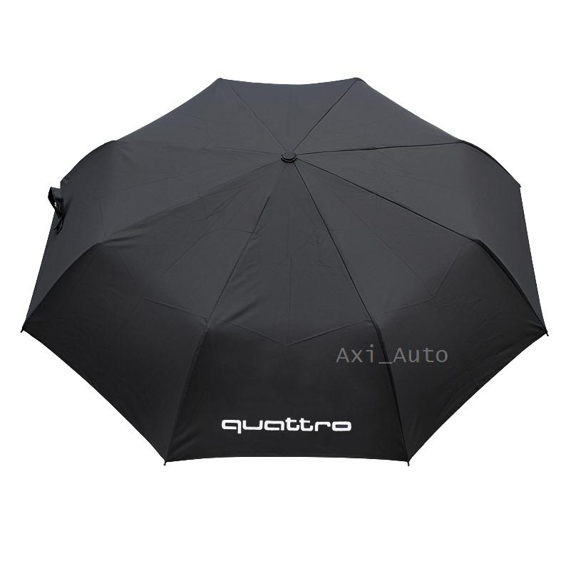 For audi a4 b6 b7 b8 a5 q5 a3 a6 q7 80 a6 c5s5 c5 sline tt a2 a8 s6 q3 a1 100 s7 sq5 quattro logo Accessories Car Umbrella