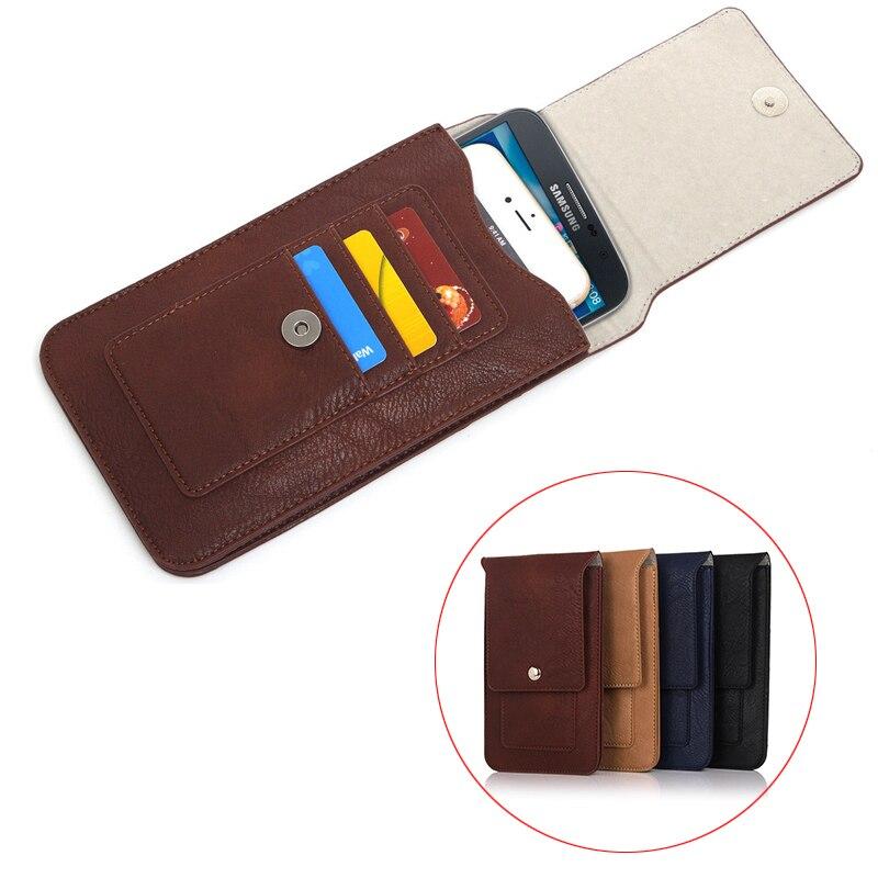 "Phone Cases For iPhone 6 6s 6 Plus 6s Plus Luxury Double Carabiner Pockets Bag Hook Loop Belt Pouch Holster Bag 6.3"" Below"