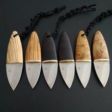 D2 стальная острая деревянная ручка ножа Открытый Отдых охотничьи ножи с фиксированным лезвием EDC инструменты для самозащиты для выживания Коллекция подарков