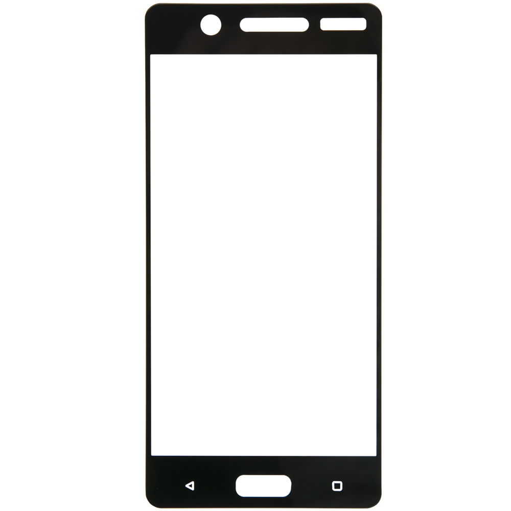 Protective glass Red Line for Nokia 5 Full screen black