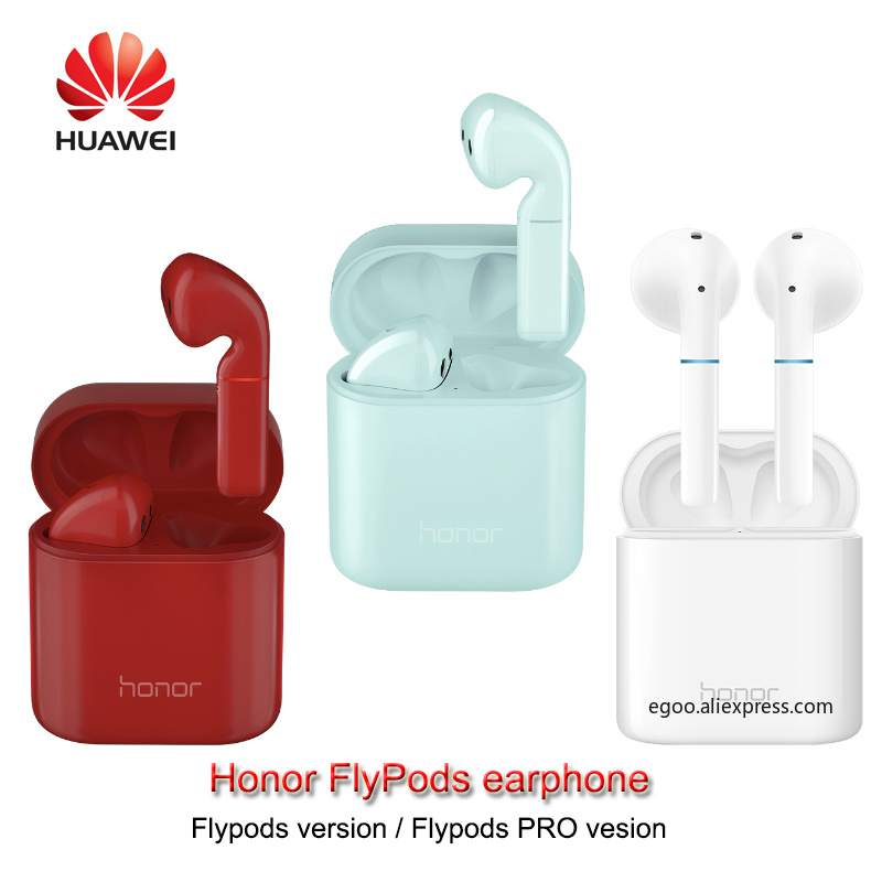 Original HUAWEI Honor FlyPods Flypods Pro Wireless Earphone BluetoothTypeC headset Music Touch Double Tap