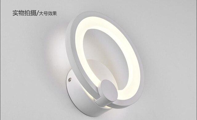 Dia cm forma di cerchio led lampada da parete lampada da