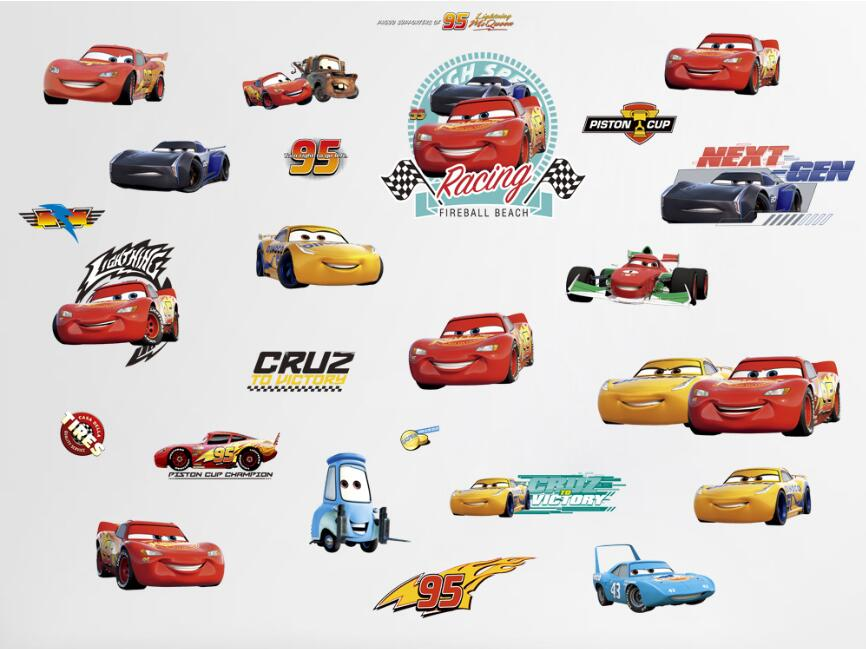 Cars Disney Pixar Cars 2 And Cars 3 Lightning McQueen Family Brazil Racing  Diecast Metal Alloy Toy Car 1:55 Brand New In Stock