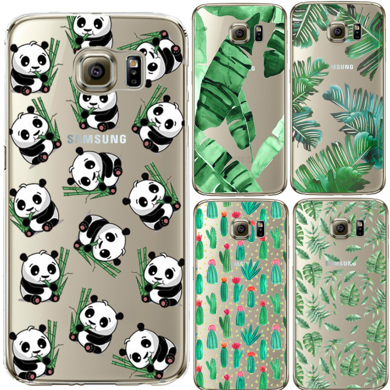 Cute Panda Silicone Case Cover For iPhone 4S SE 5 5s 6 6S 7 Plus For Samsung Galaxy S3 S4 S5 S6