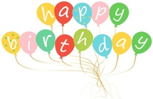 Happy Birthday Banner Lovely Cartoon Balloons Kids Supplies Childrens Favorite Ornaments Party Backdrops