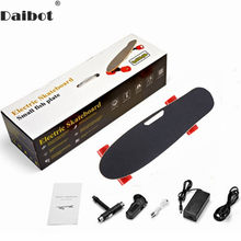 Daibot Kind Elektrische Roller Vier Rad Elektro-scooter 150W Einzigen Motor Tragbare Wireless Remote Mini Elektrische Skateboard(China)