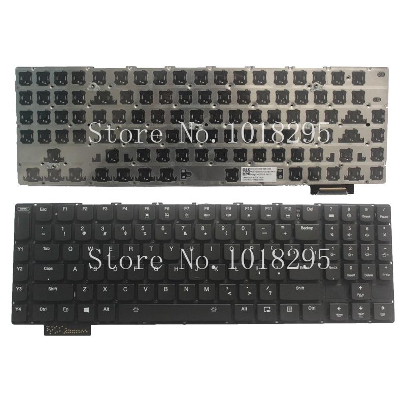 NEW!!! English FOR Lenovo Gaming Y900 Keyboard Backlit US No Frame new for hp envy touchsmart us keyboard with backlit frame compatible v140626ds1 v140626a 760743 001 6037b0100201 97 00076 us 0b