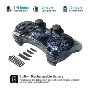 Image 3 - K ISHAKO For SONY PS3 Bluetooth Controller Gamepad Manette For Sony Play Station 3 Joystick Wireless Gamepad SIXAXIS Dual Vibrat