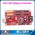 Kaler usb control card XU4 support 1024x64 pixel single , dual,full color led display screen running text p10 led controller