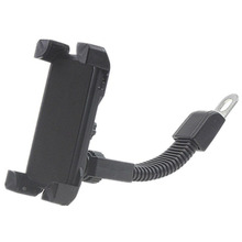 цена на Motorcycle Phone Holder For Iphone X 8 Plus SE S9 GPS Bike Rearview Mirror Four-Claw Mobile Frame
