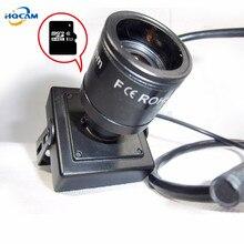 HQCAM CAMHI Audio 720P Micro TF SD Camera Mini IP Camera Home Security Camera Indoor CCTV IP Kamera 9-22mm zoom manual lens