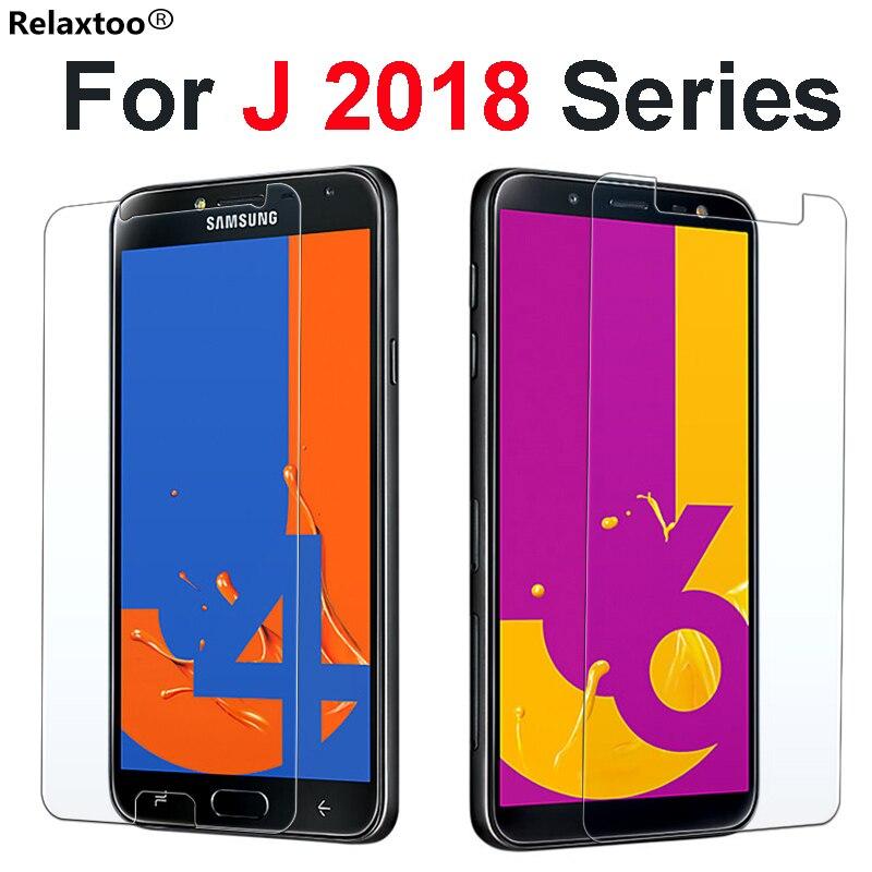 Protective Glass On For Samsung Galaxy J8 2018 J2 J3 J4 J6 Plus J7 Prime Tempered Glass Galax J 2 4 6 7 8 Screen Protector Film samsung vase