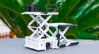 Rare,Collectible 1:50 Scale Airport cargo lifting platform Aircraft special cargo vehicle Airport equipment model Static model