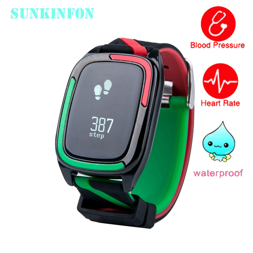 Smart Wristband Watch Blood Pressure Fitness Tracker Heart Rate Monitor Smart Band IP68 Waterproof for iPhone Samsung Galaxy HTC цена и фото