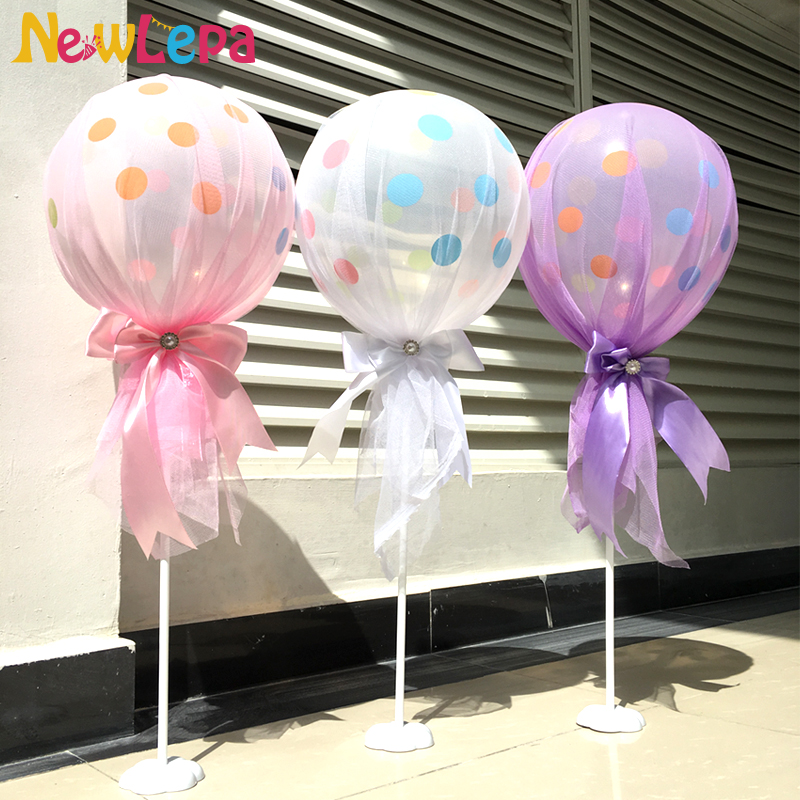 Tulle Baby Shower Decoration Ideas