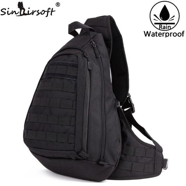 02815ab041 Sac à dos à bandoulière poitrine sacs pour hommes un seul épaule homme grand