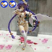 NEW 25cm CYBER DIMENSION NEPTUNE 4 Goddesses Online Noire Purple Heart Neptune 1/6 Scale PVC Figure Collectible Model Toy In Box