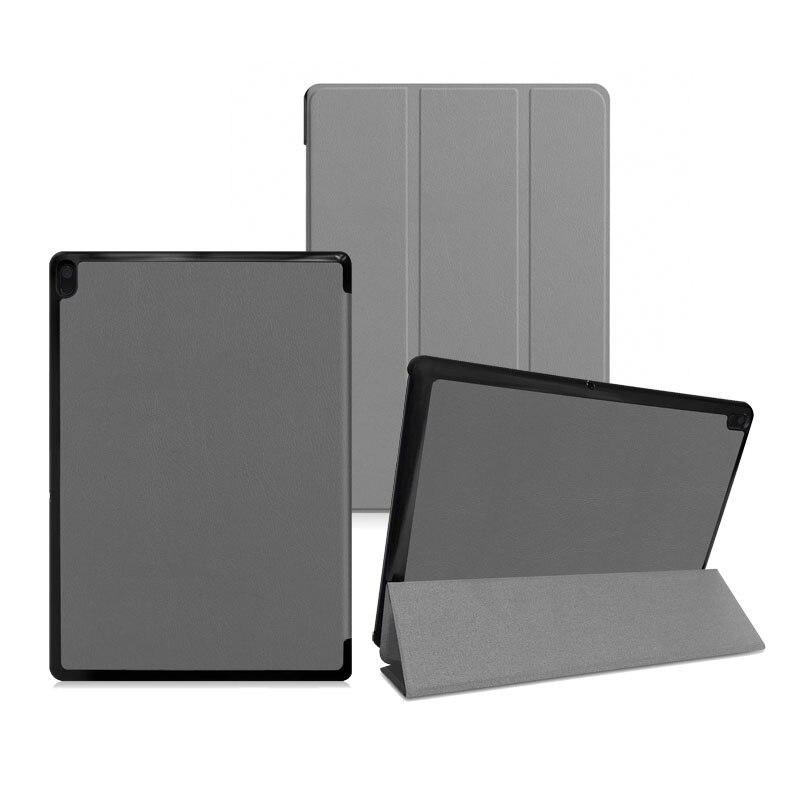 30PCS Lot Luxury Slim Folding Stand PU Leather Case For Lenovo Tab E10 X104 Tablet 10