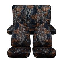 Universal Size Car Seat Covers For SUV Off-Road Hunting Camouflage Auto Cover Fishing Waterproof Interior Accessories