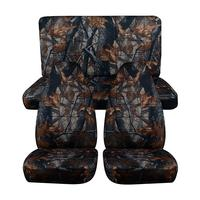 Universal Size Car Seat Covers For SUV Off Road Hunting Camouflage Auto Seat Cover For Fishing Waterproof Interior Accessories