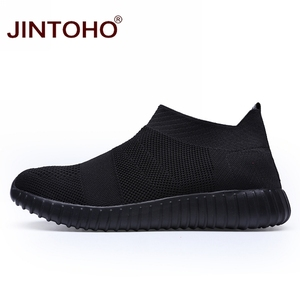 Image 4 - JINTOHO ขนาดใหญ่ผู้ชายรองเท้าผ้าใบสีดำรองเท้าผู้ชาย Loafers ราคาถูกชายรองเท้าผ้าใบฤดูร้อนชายรองเท้า 2019 ผู้ชาย Shose